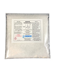 100% SODIUM THIOSULFATE Pentahydrate 5 lbs Bulk Package Na2O3S2 for pools ponds