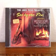 The John Tesh Project Sax By The Fire CD Album GT Records playgraded M-