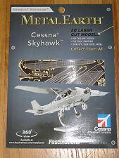 Cessna Skyhawk Metal Earth 3D Laser Cut Metal Model Fascinations Airplane