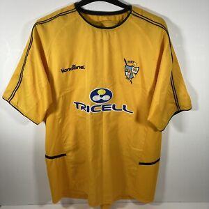 Collectible Vandanel Port Vale 2003-2005 Yellow Away Football Shirt 2XL 48/50