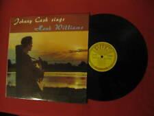 "JOHNNY CASH ""SINGS HANK WILLIAMS"" 1960 SUN LABEL 1ST PRESSING SLP-1245 LQQQK!!"