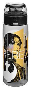 Star Wars | Rogue One Rebel Defiance Blue Tritan BPA Free Plastic Drink Bottle