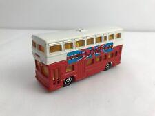Majorette - British Tour Bus  No. 286 - Vintage Made in France 1980s