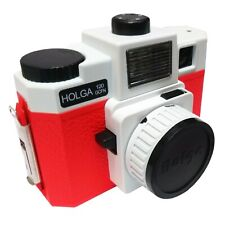 Holga 120 GCFN Medium Format Camera Red - Glass lens - Coloured Flash