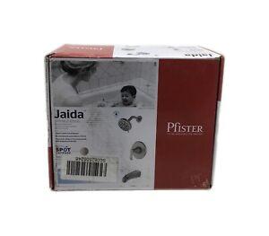 Pfister Jaida Single-Handle 4-Spray Tub and Shower Faucet Brushed Nickel