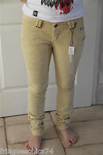 pantalon velours KANABEACH BIOLOGIK lacter T38  NEUF ÉTIQUETTE valeur 105€