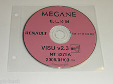 Schematics On CD Renault Megane - Stand 01/2005