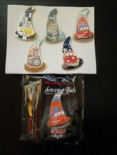 Disney Pin WDI Sorcerer Hats Mystery Pin Collection Cars Land 2012 Set of 5 Le