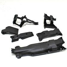 Traxxas E Revo 2.0 1/10 Chassis Skid Plates Front rear center set Shock Guards