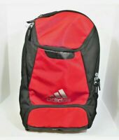 Adidas Black and Red Hydroshield Stadium Team Backpack Great Condition
