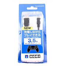 Nuevo PS4 USB a Micro USB Carga Y Juego Cable Lead 3.5M Largo Negro