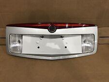 04-07 Cadillac CTS V Trunk Trim License Plate Cover Holder Brake Light OEM