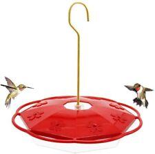 Juegoal Hummingbird Feeder with 8 Feeding Ports, Outdoor Patio Garden(16 oz)