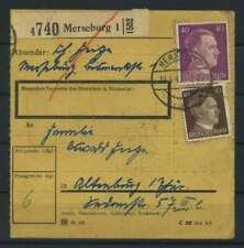 Paketkarte 1943 MERSEBURG siehe Beschreibung (117413)