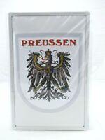 Blechschild Preußen Preussen Metall Schild 30cm,Nostalgie Metal Shield .