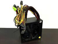 New 550W 550 Watt Power Supply ATX 12V for Intel AMD motherboard SATA PCI 24 Pin