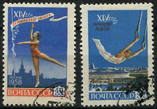Russia 1958 SG#2213-4 Gymnastics Cto Used Set #A81849