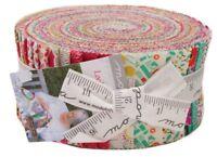 """Moda Looking Forward Jelly Roll 2.5"""" Precut Fabric Strips Jen Kingwell 18141JR"""