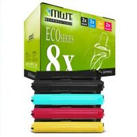 8x MWT Eco Cartridge XXL Compatible for Brother MFC-L-8600-CDW HL-L-8350-CDW