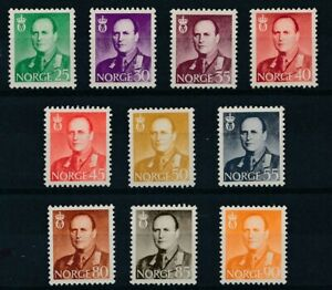 [34139] Norway 1958/60 Good lot Very Fine MNH stamps