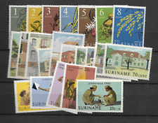 1961 MNH Suriname year collection postfris**