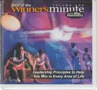 Best Of The Winner's Minute With Mac Hammond AUDIO BOOK CD Leadership Christian