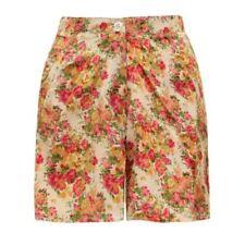 Damen-Shorts mit hoher Bundhöhe in Größe 40