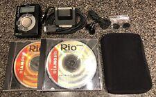 Rio Diamond Mp3 Player (Pmp300) Cds, Headphones, Case, Pc Cable, Adapter Bundle