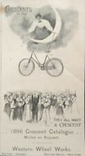 1896 AD.(1800-5)~WESTERN WHEEL WORKS, CHICAGO. '96 CRESCENT CYCLES