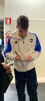 Foto Autografo Calcio Davide Bettella Pescara Asta Beneficenza Soccer Coa Signed