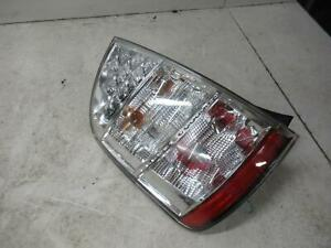 TOYOTA PRIUS LEFT TAILLIGHT NHW20R, CLEAR, LENS# 4713, 11/05-04/09 05 06 07 08 0