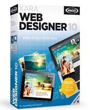 New MAGIX XARA Web Designer 10 Software No Programming Skills Required Free Ship