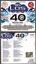 LOS CUARENTA 40 Winter 2011 3CD Nuovo New Sealed Sigillato