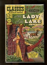 Classics Illustrated #75 Hrn 75 (Orig.) Vg Kiefer, The Lady of the Lake