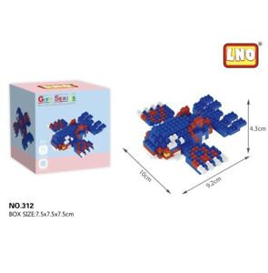 Nintendo Pokemon Kyogre 221pcs Nano Blocks