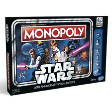 Hasbro HASC1990102 Monopoly Star Wars 40th Anniversary Special Edition