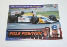 1995 Futera Australian F1 Grand Prix Pole Position card #PP2 Nigel Mansell