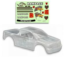 1:5 Redcat Racing Rampage Monster Truck Clear Body Shell With Decals MT XT New