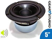 """HI-FI Replacement Bass Speaker Cone 5"""" 130mm 90W 8 Ohm Coated Speaker"""