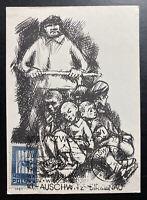 1965 Oswiecim Poland Picture Postcard Cover Auschwitz Concentration Camp KZ