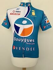 Bouygues Telecom 2006 Thomas Voeckler signed cycling shirt jersey maillot