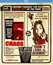 CHAOS & DON'T LOOK IN THE BASEMENT , UNCUT , BLU-RAY , CODE RED , REGION A,B,C