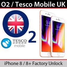 O2UK/Tesco Mobile iPhone 8 Plus Factory Unlocking Service
