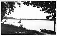 Real Photo Postcard View of Carp Lake, Michigan~119682