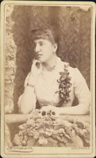 Southsea. Young Lady Flowers Corsage Beads Necklace  AG.402