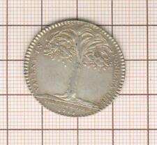 joli jeton argent Louis XV 1744 trésor royal