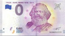 ✔ 0 Euro Bill Karl Marx / Trier /Zero Euro Note1818 - 2018 / Limited Banknote