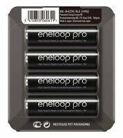 4x Panasonic Eneloop PRO R6 AA 2500 mAh BK-3HCDE-Batterien (Blister)