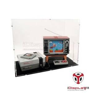 Acryl Vitrine für Lego 71374 Nintendo Entertainment System  - NEU