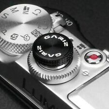 Gariz Universal Soft Release Shutter Button Auslöser Kamera Auslöseknopf Schwarz